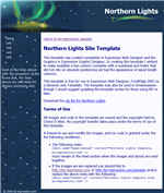 thumbnail northern lights template